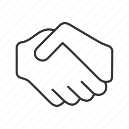 agreement, business deal, greeting, hand shake, handshake, introduction, meeting icon