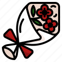 flower, bunch, flowers, bouquet, valentines, love, poppies