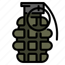 hand, grenade, bomb, military, weapon