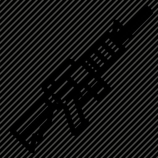 Gun, war, military, weapon, rifle, soldier, army icon - Download on Iconfinder
