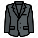 fashion, suit, men, cloth icon