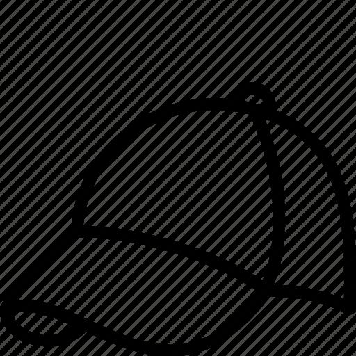 Baseball, cap, clothing, fashion, mens, menswear icon - Download on Iconfinder