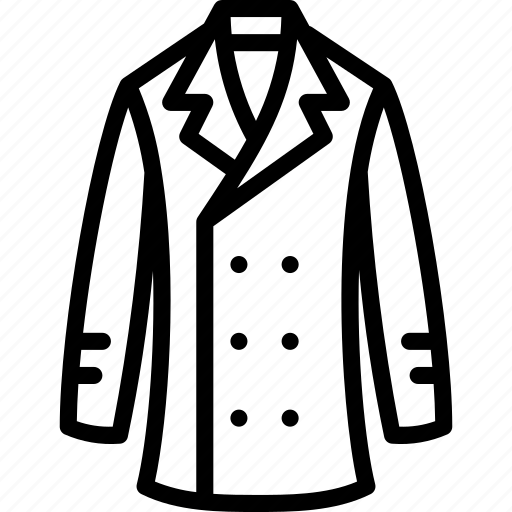 clothing, coat, fashion, mens, menswear, trench icon