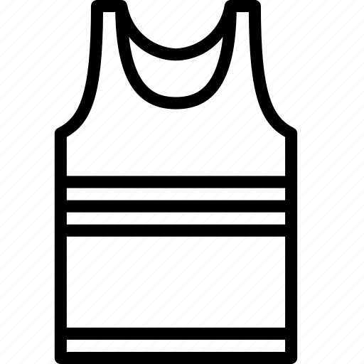 clothing, fashion, mens, menswear, tank, top, vest icon
