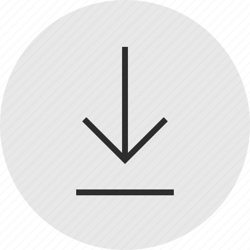 down, download, online icon