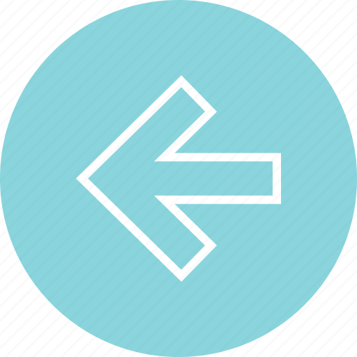 left, menu, online, point icon