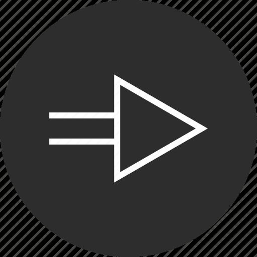 Go, menu, next, online icon - Download on Iconfinder