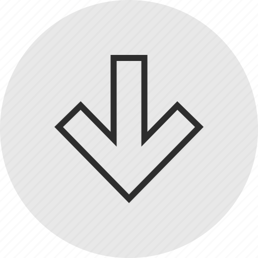 Down, menu, point icon - Download on Iconfinder