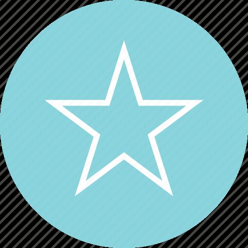 favorite, menu, online, star icon