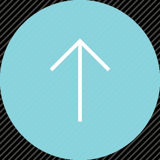 arrow, menu, online, up icon