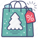 christmas, discount, new year, sale icon