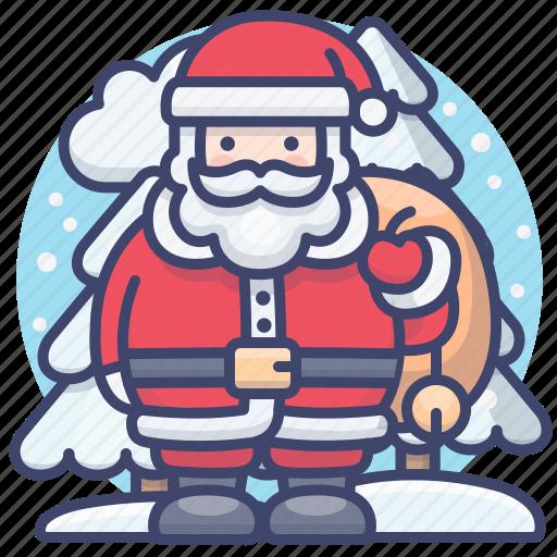 Christmas, claus, santa, xmas icon - Download on Iconfinder