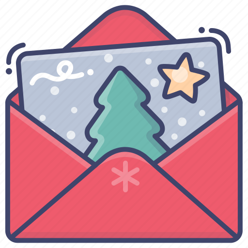 Card, christmas, greeting, merry icon - Download on Iconfinder