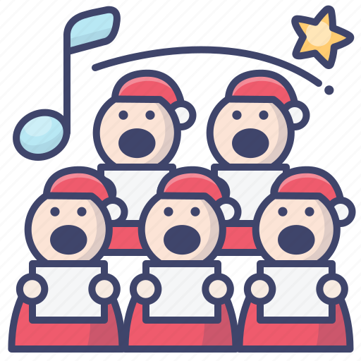 Chorus, christmas, sing, song icon - Download on Iconfinder