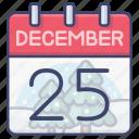 calendar, christmas, xmas