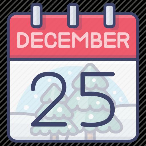 Calendar, christmas, xmas icon - Download on Iconfinder