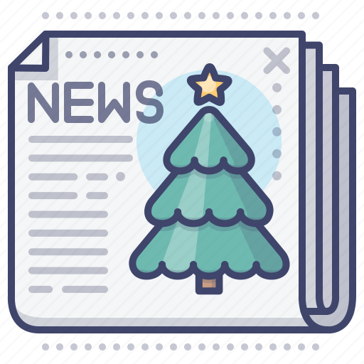 Christmas, news, newspaper icon - Download on Iconfinder