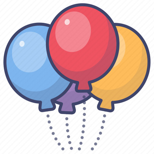 Baloon, baloons, holiday, party icon - Download on Iconfinder