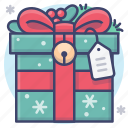 christmas, gift, holiday icon
