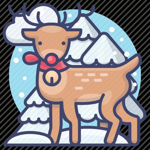 Christmas, deer, reindeer, winter icon - Download on Iconfinder