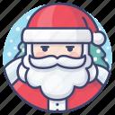 santa, claus, christmas