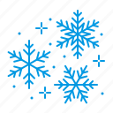 snow, flakes, christmas, snowflakes