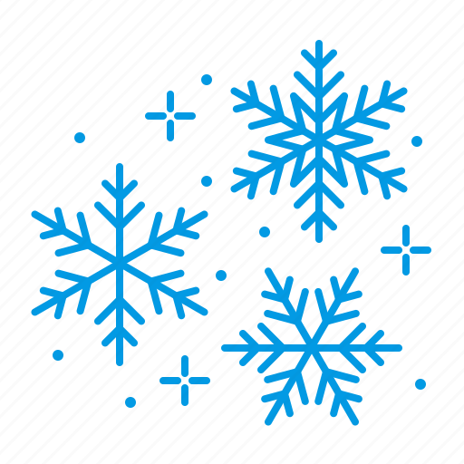 christmas, flakes, snow, snowflakes icon