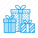 birthday, box, christmas, gifts, presents icon