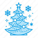 christmas, new, tree, year icon