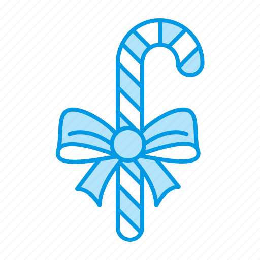 candy, cane, christmas, stick icon