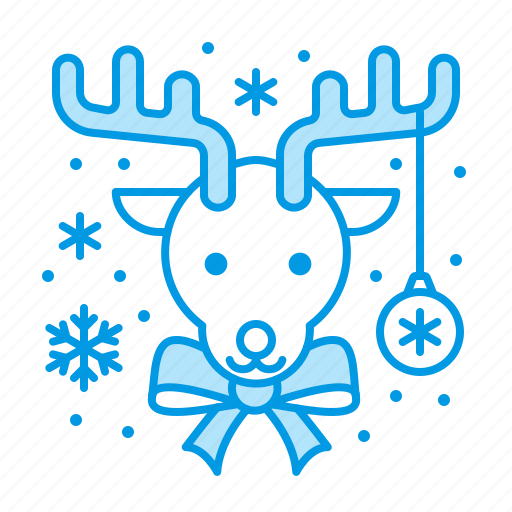 Christmas, deer, rudolf icon - Download on Iconfinder