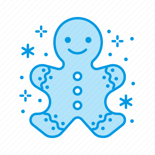 Christmas, gingerbread, man icon - Download on Iconfinder