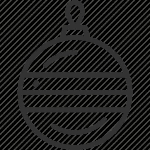 ball, christmas, holidays icon
