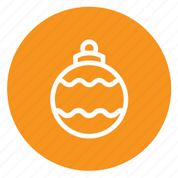 ball, bulb, christmas, decorations, winter icon