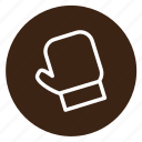 christmas, cooking, festive, food, glove, oven icon