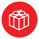 boxingday, christmas, gift, presnt, ribbons, sealed icon