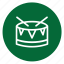 christmass, drums, music, playset, xmass icon