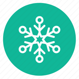 decoration, snow, snowflake icon