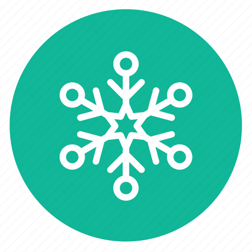 decoration, snow, snowflake icon