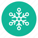 decoration, snow, snowflake, winter icon