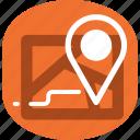 `message, location icon