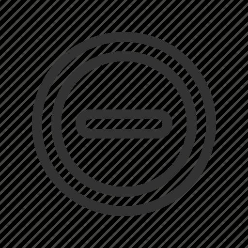 block, forbidden, restriction, sign, stop icon