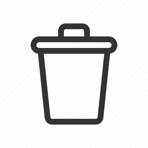 bin, clean, delete, trash icon