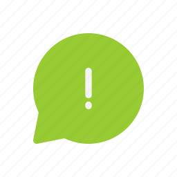 chat, important, information, message, warning icon