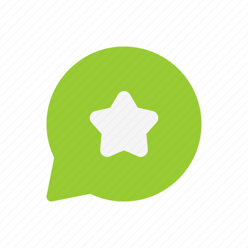 chat, favorite, like, message, star icon