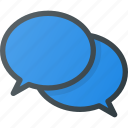 bubble, chat, conversation, message, messages icon