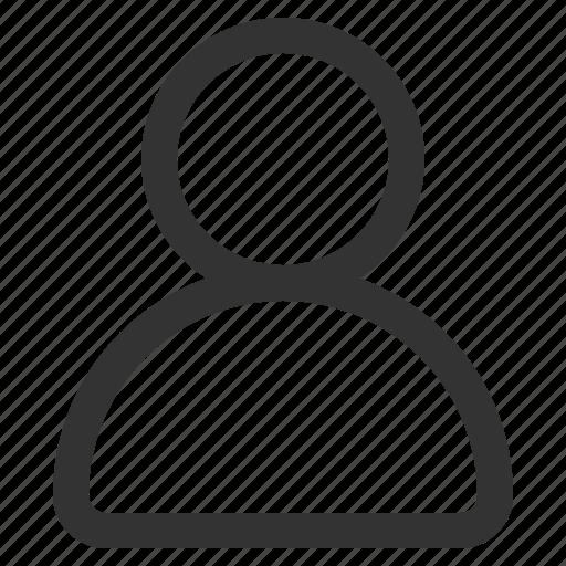 account, avatar, male, people, person, profile icon