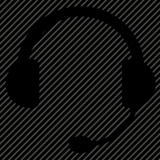 headphones, microphone, speak, speakers icon
