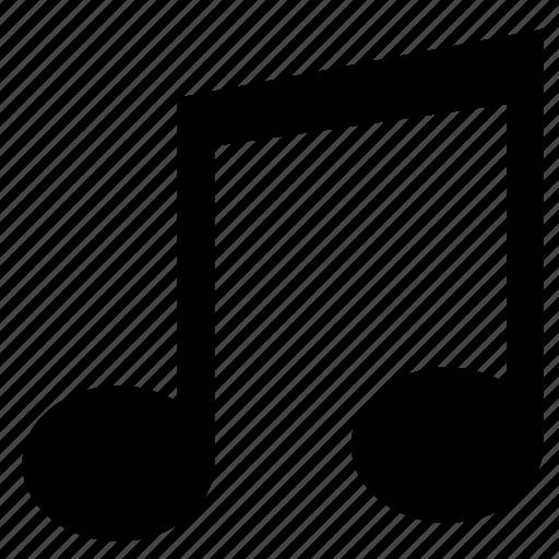 listen, music, note, sound icon