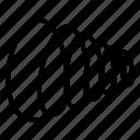 compression, flexible spring, spiral spring, steel spring, suspension icon